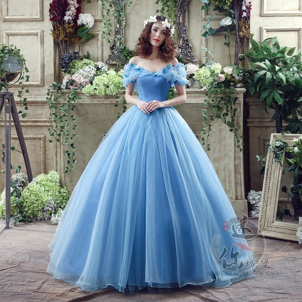 Discount Cinderella Princess Wedding Dress Luxury Sweet Romantic ...