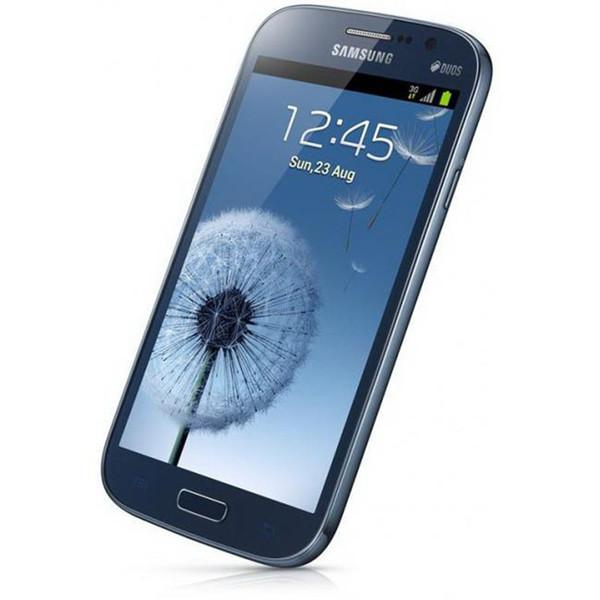 Recondicionado Samsung I9082 GALAXY Grande DUOS I9082 Dual Micro Sim Card Desbloqueio Original WCDMA 3G 5 polegadas 1GB / 8GB Celular