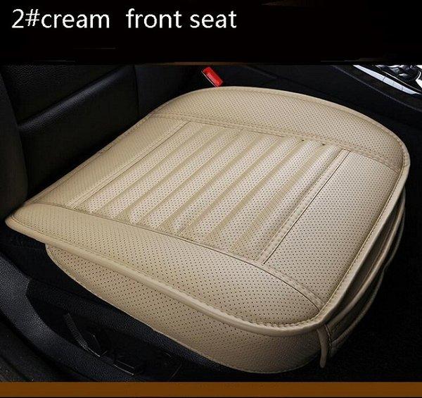 2 # siège avant en crème