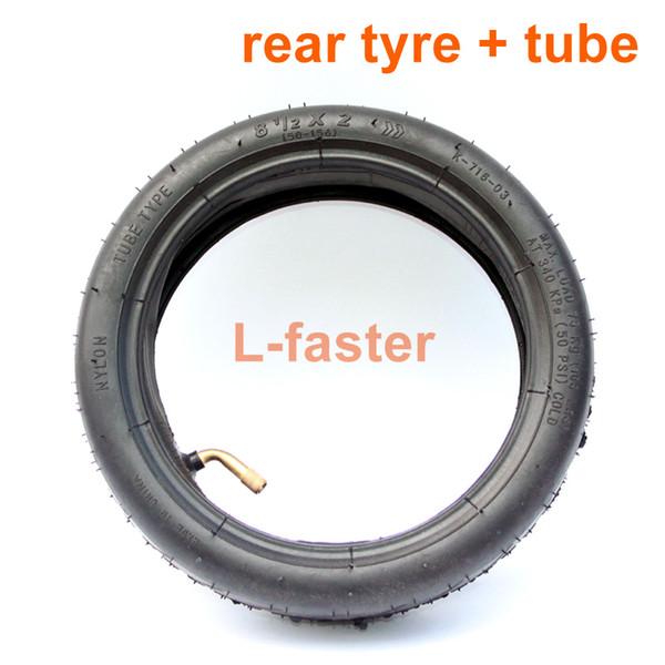 Rear tyre tube