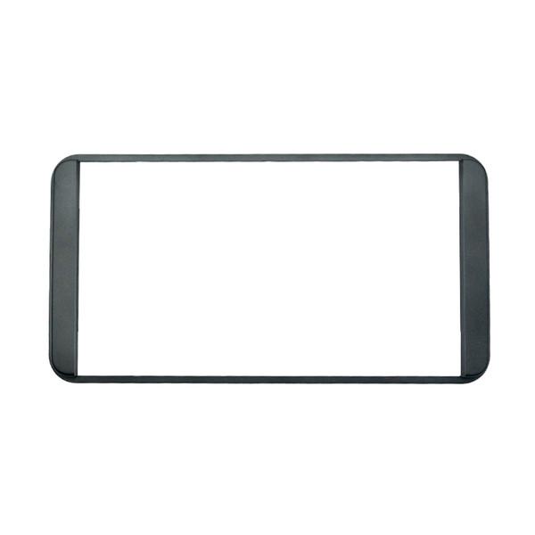 LEEWA Araba Çivisiz 2DIN DVD Çerçeve DVD Paneli Dash Kiti Toyota Prado 4500 Için Fasya Radyo Ses Çerçeve 2DIN # 3634
