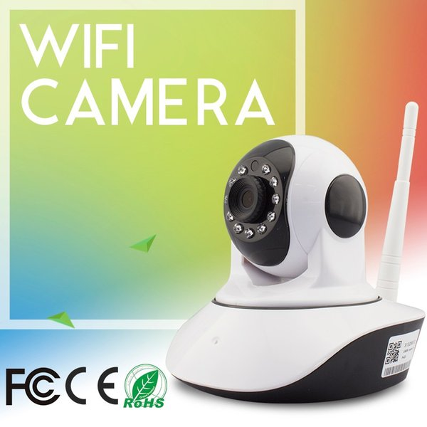 Night Vision Security IP Cameras 720P HD Mini PTZ camera support iPhone and android smart phone