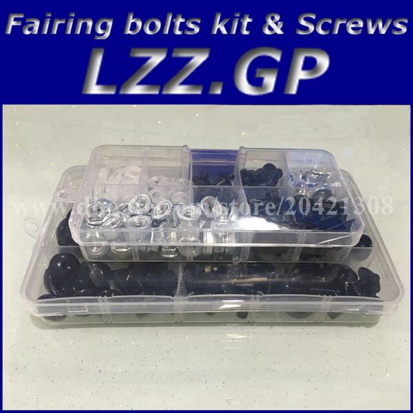 Fairing bolts kit screws set for HONDA CBR600F3 1995 1996 1997 1998 CBR600 F3 95 96 97 98 Fairing screws kit black silver