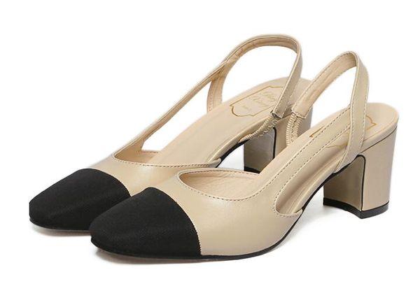 2016 nueva llegada de alta calidad hermosos zapatos de albaricoque mujeres  bombas hebilla punta redonda cuero c27bbec392ed