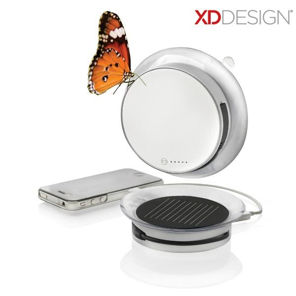 Wholesale Original XDDesign Window stick Port Solar Charger 1000mAh USB cable for smartphone,Window port sucker solar power bank USB charger