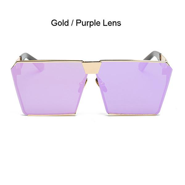 Gold Frame Violet objectif