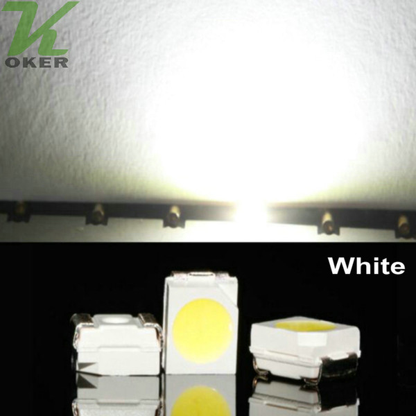 10000pcs/reel Withe PLCC-2 SMD 3528 (1210) LED Lamp Diodes Ultra Bright SMD3528 1210 SMD LED Free shipping