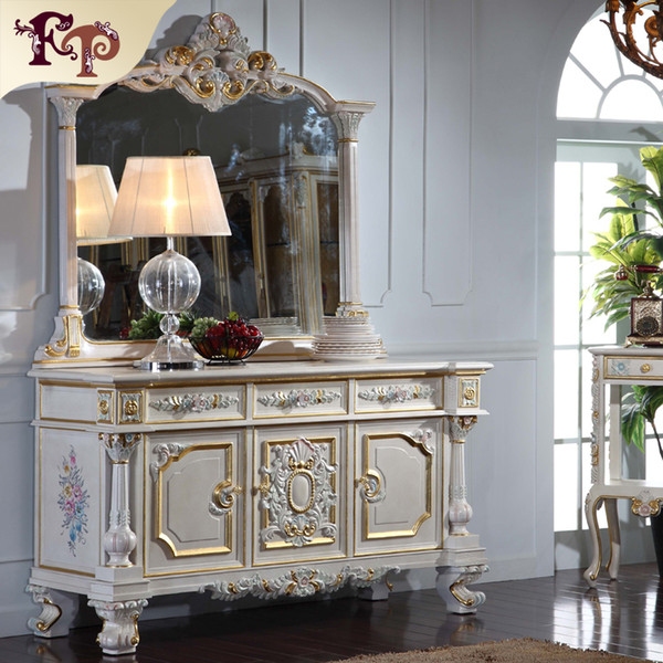 French Royalty Classic Furniture Baroque Handcraft Cracking Paint Floor Cabinet And Decoration Mirror Australia 2019 From Fpfurniturecn Au 908 51