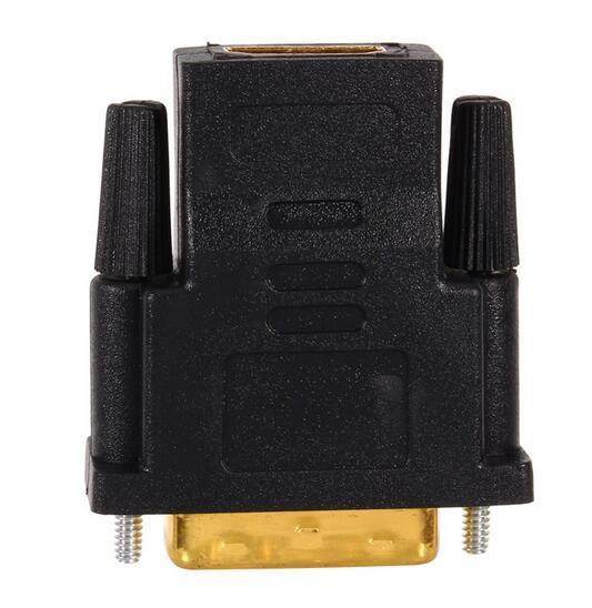 Banhado A ouro DVI 24 + 1 HDMI Converter Macho para Fêmea Adaptador Conversor Cabo Cabo para HDTV LCD
