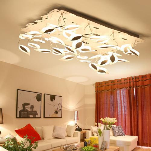 großhandel led-deckenleuchten blattform lampe europäische post ... - Moderne Deckenleuchten Fur Wohnzimmer