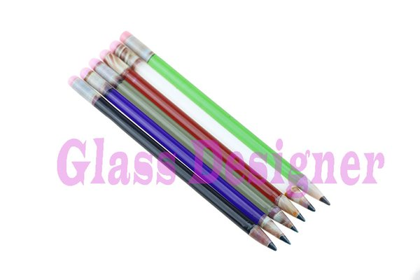 Smoking glass Pencil Dabber Smoking Dabber Glass Picker Smoking Glass Pencil Dabber For Tobacco Pencil Design 6 Colors