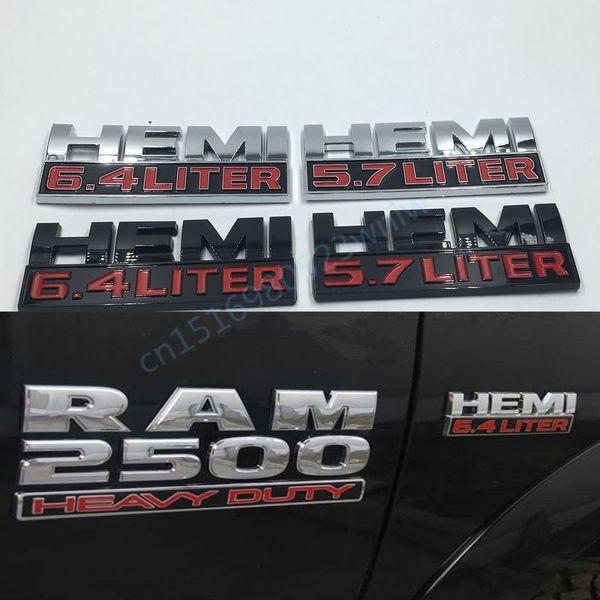 Ram 6 4 Hemi >> 2019 For Dodge Ram Hemi 5 7 6 4 Liter Logo Car Body Emblems