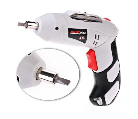 Chinese Yiday 45PCS Household Cordless Reversible Rechargeable Drill Bit 4.8V Electric Screwdriver Power Driver Tool