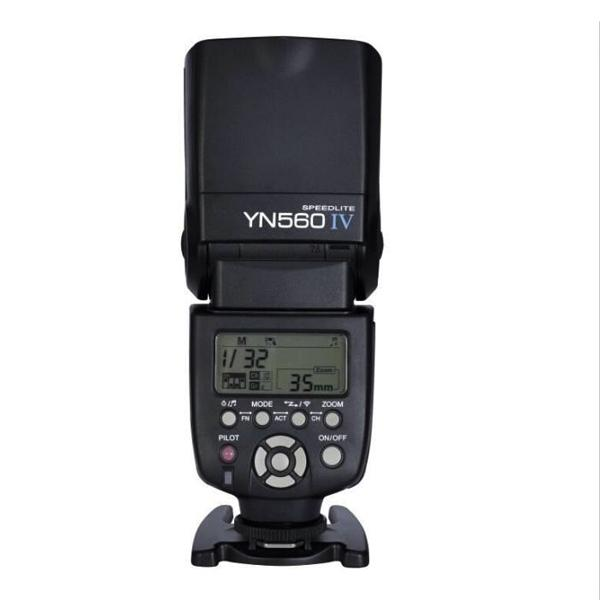 Yongnuo YN560 IV Speedlite + White Diffuser 2.4G Wireless Trigger Flash for DSLR Camera Canon Nikon Pentax Olympus