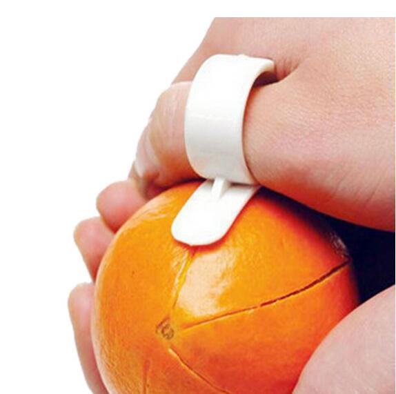 Творческая кухня гаджеты кулинария инструменты Мандарин оранжевый овощечистка Parer палец тип ловко открыть апельсиновая корка оранжевый устройство WJIA011