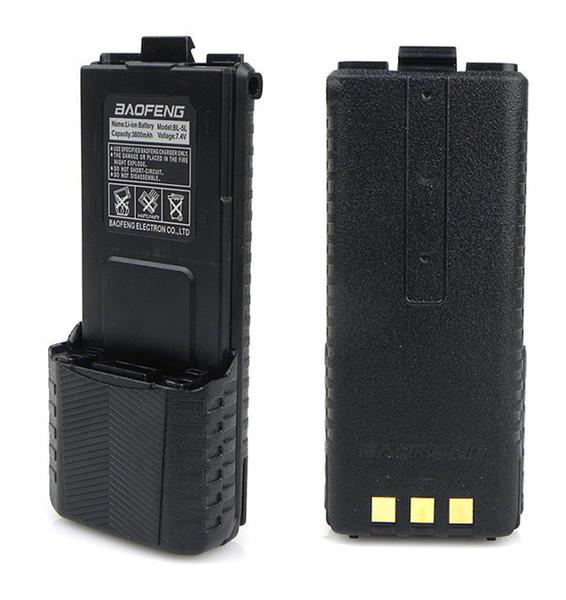 7.4 В большой 3800 мАч Baofeng УФ - 5R аккумулятор для Радио Walkie Talkie частей оригинальный bao feng 3800 мАч УФ 5R UV5R baofeng аксессуары