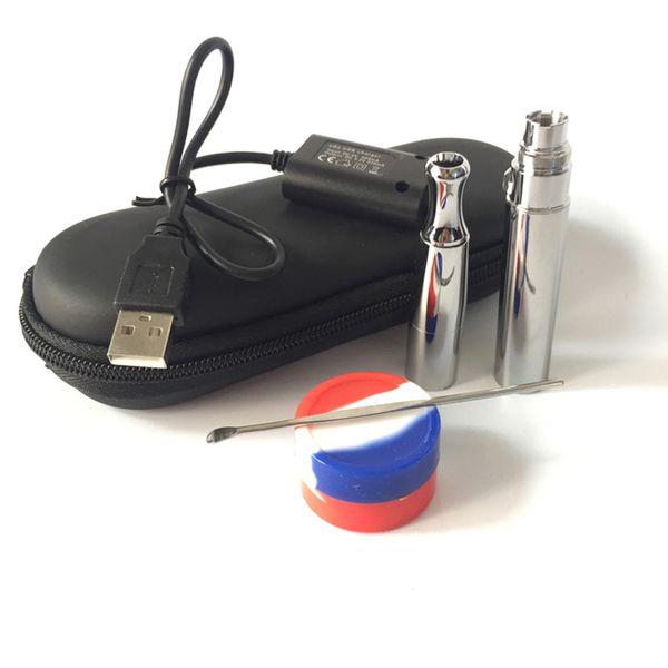 Wholesale Price Quartz Wax Coil Vaporizer Pen Puffco Skillet Electronic Cigarette for Dry Herb Heating Vaporizer Pen