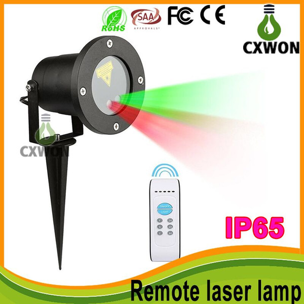 outdoor waterproof IP65 laser light projector christmas lights Stage Lights laser light show projector 8 pattern have remote control