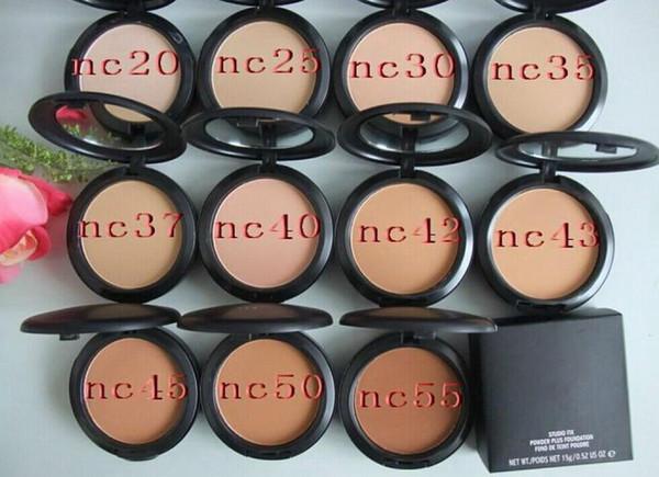 Бесплатная доставка новый бренд макияж студия исправить порошок плюс Фонд 15 г (2 ш