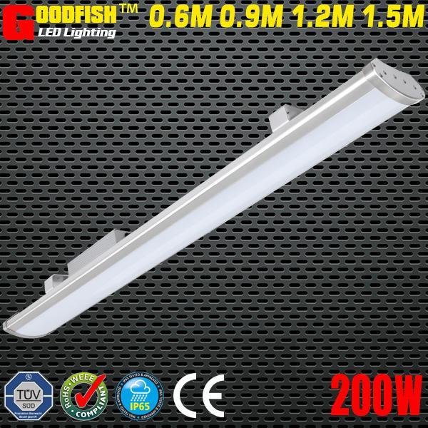 2019 LED Batten Lamp 5FT 1500mm Lighting Fixture 200W LED LOW BAY LIGHT  IP65 Waterproof Led Linear Warehouse Light High Power Industrial Light From