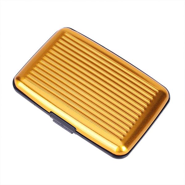 10pcs/lots Hot Aluminium Credit card wallet case card holder bank case aluminum wallet variable colour for free shipping