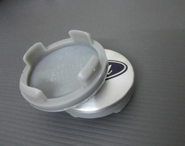 DHL 100pcs 54mm Blue/Silver Car Wheel Hub Center Cover Caps Emblem Badge For Ford Fiesta Focus Fusion Mondeo Escap 6M211003AA CAR STYLING