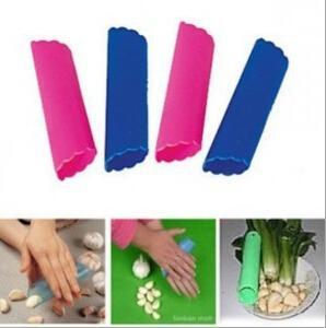 creative silicone garlic peeler vegetable peeler kitchen gadget garlic stripper tube peeling garlic peeling fruit vegetable tools