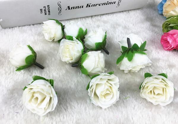 vente en gros bricolage fleurs de décoration touche réelle mini