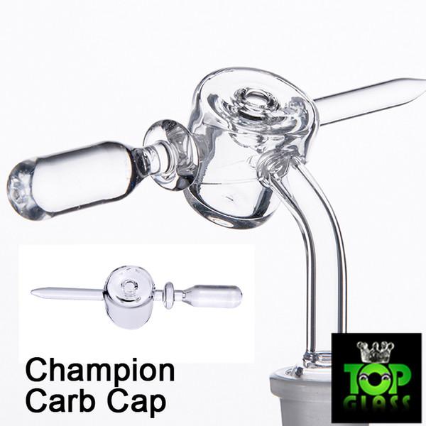 Newest Champion Universal Quartz Carb Cap With Dabber and handle to Fit Most Quartz Banger Nails