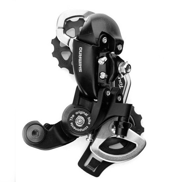 Wholesale-1pc Cycling Bicycle Rear Derailleur Tourney RD-TX35 6/7 Speed 34T Top-Normal Long Mountain MTB Bike Bicycle Parts -- SPA058 PRP