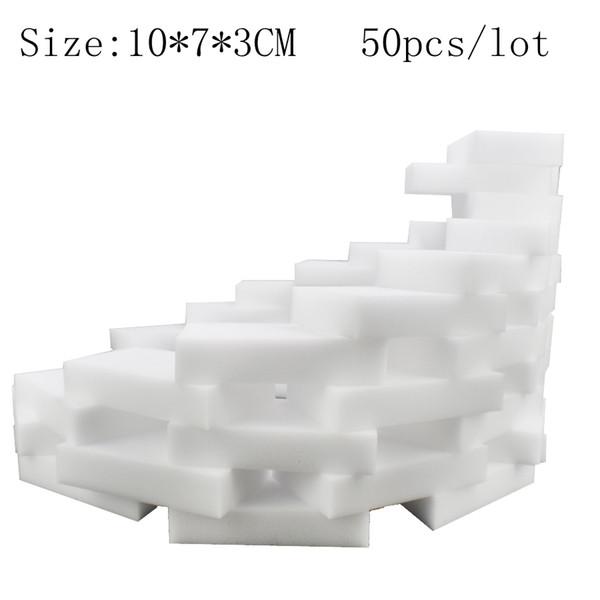 Acessórios de cozinha Esponja Mágica para Pratos de Limpeza de cozinha aparelhos de banheiro de Alta qualidade Nano Esponja 50 pçs / lote BY-HMC-C50