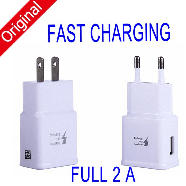 best selling Original Fast Charging 5V 2A Eu US Plug Usb Wall Charger Adapter Universal Home Travel USB Charger For Iphone Samsung S6 s7 s8 s8 plus