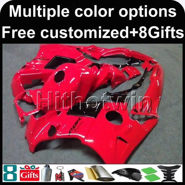23 цвета + 8 подарков красный CBR600F2 91-94 91 92 93 94 Обтекатели ABS Обтекатель кузова Обтекатель для Honda CBR600 CBR 600 F2 95 96 Комплект из пластика ABS