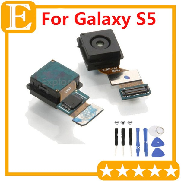 Back Rear Camera Module with Flex Cable Ribbon Replacement Part For Samsung Galaxy S5 I9600 G900 G900A G900T VS G900P G900I G900F G900V