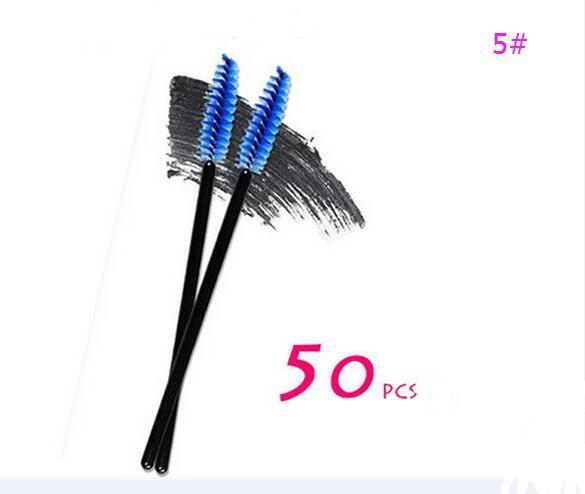 5# Blue Eyelash Brush