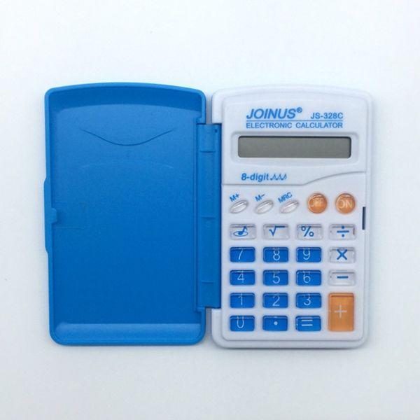 Calculatrice chaude Pupilles Poche Calculatrice Mini Poche Lap Calculatrice Portable Promotions 2017 nouvelle mode