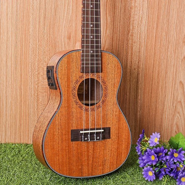 "23-1 23"" Ukulele Mahogany Acoustic guitar 4-strings guitarra musical instruments Wholesale electric guitar"