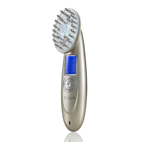 Перезаряжаемые USB поручая гребень лазера вибрируя Regrowth волос массажа скальпа стимулирует машину щетки массажа волос
