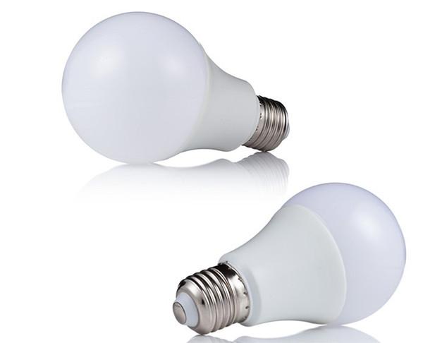E27 3W 5W 7W 9W 12W globe dimmable 220V 110 BALL bulbs LED Bulb Light SMD5730 85-265v Heat Dissipation High Bright Lampada LED light Lamps