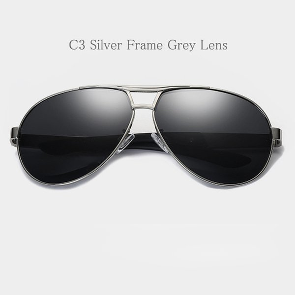 C3 Silver Frame Grey Lens