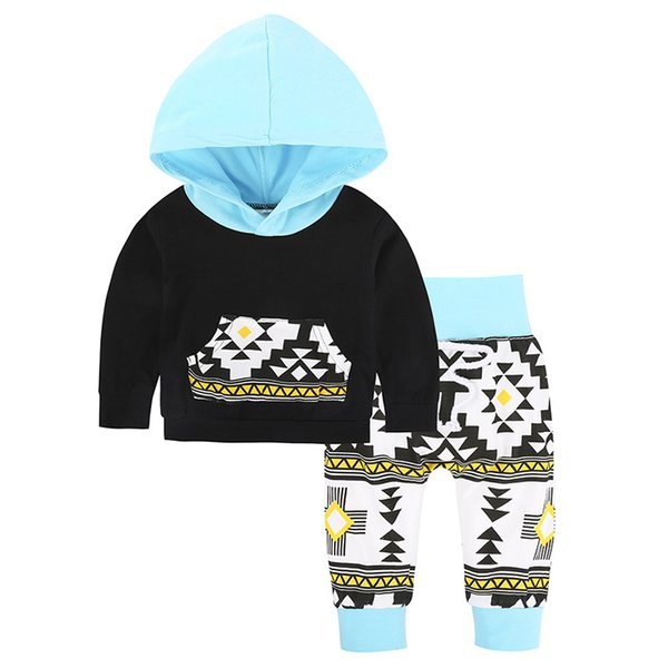 No.8 Classical Clothes for Girls Set of Spring Hooded T-shirts 2 Pcs + Leggings Pants.Sets of Clothes for Girls Children Suit