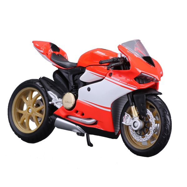 1:18 2016 Kawasaki H2R Motorcylce Diecast Model With Removable Base Collection Motorcycle Model Diecasts Toy Vehicles toys for children