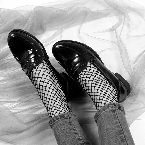 Black Sexy Lace Floral Women Short Socks Meias Ladies Cute Ankle Socks Female Breathable Fishnet Socks Calcetines Mujer