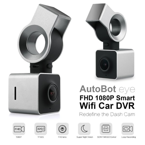 AutoBot Eye Full HD 1080P Smart Wifi Car DVR Novatek 96655 Auto Camera Dashcam Video Recorder G-Sensor WDR Night Vision