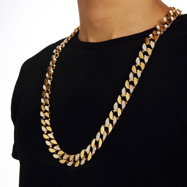 половина кристалла necklace1
