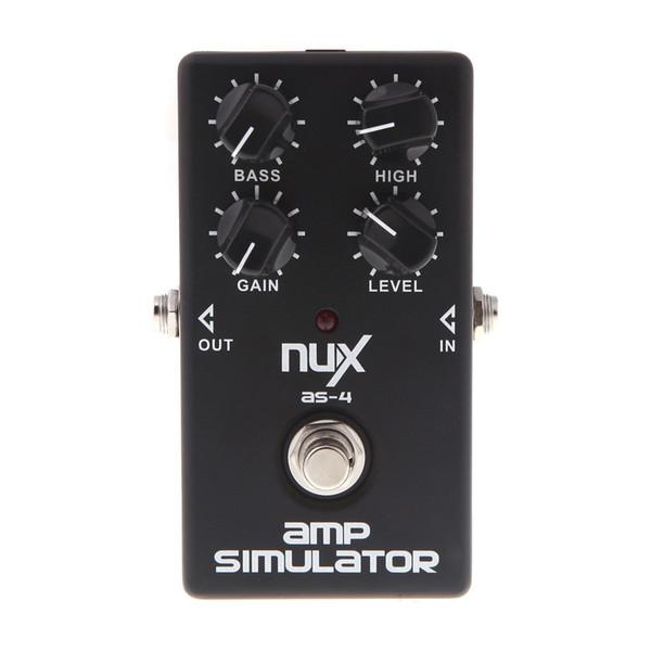 Prodotto originale NUX AS-4 Amplificatore Simulatore Violao Chitarra Effetti a pedale elettrico True Bypass Accessori per strumenti musicali