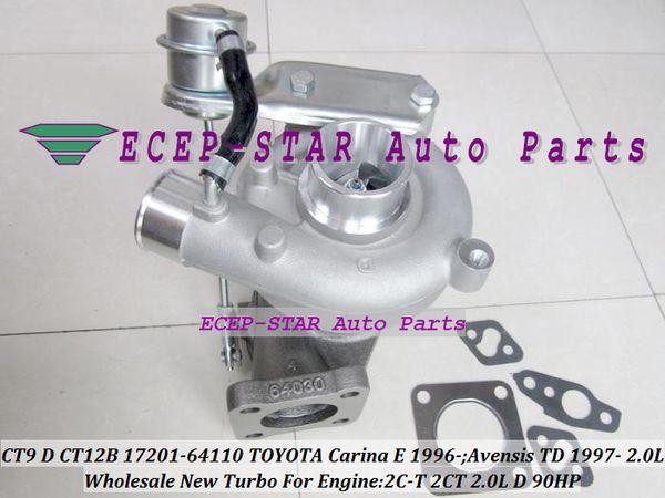 CT9 CT12B 17201-64110 17201 64110 1720164110 Turbo Turbocharger For TOYOTA Carina E 1996-;Avensis TD 1997- 2C-T 2CT 2.0L D 90HP