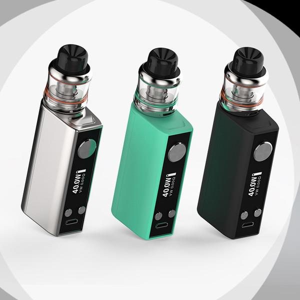 SMY auténtico Mr.Q Box Mod Kit 40W TC Mod E Kits de cigarrillos 1300mAh Batería 2 ml Mini tanque vaporizador Envío rápido