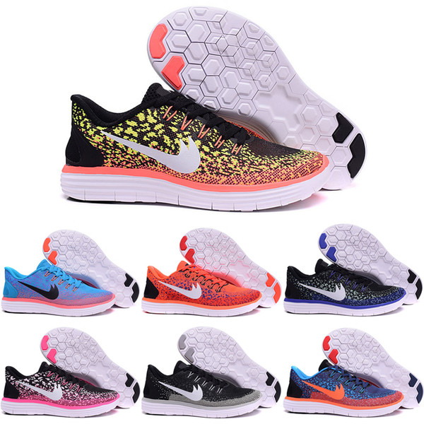 the latest f90f2 f88ab Wholesale Cheap Running Shoes Men Women Free RN Distance Sky Star Original  Cheap 2016 Casual Shoes