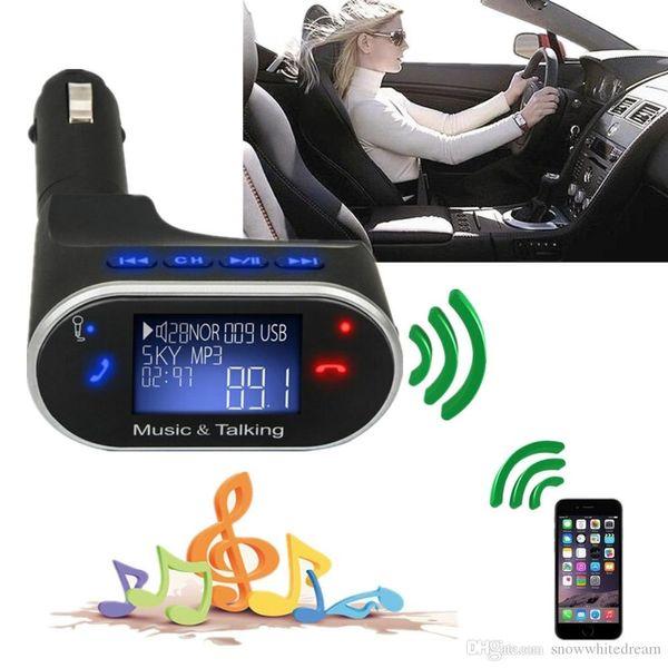 2016 Kit New Listting LCD Bluetooth Car MP3 Player Transmissor FM SD USB Charger Viva-voz Com BT630 remoto